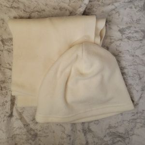 Fleece Hat and Scarf Bundle
